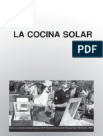 Cocinas Energia Solar