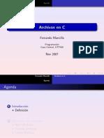 Archivos en C (UTFSM)