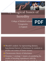 Cytological Bases of Heredity