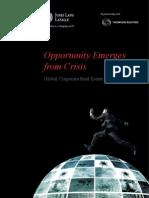 CRE Global Survey 2011 Final