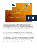 Practical Motor Current Signature Analysis