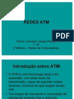REDES ATM - APRESENTAÇÃO SLIDES