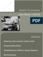Ankle Injuries -JM