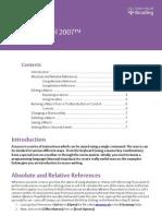 Microsoft Excel 2007 Macros