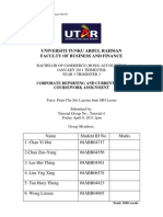 CRCI Assignment Report