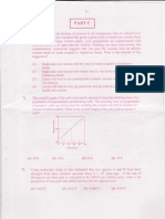 Csir-net June 2011 (Question Paper) Part c(i)- Life Science