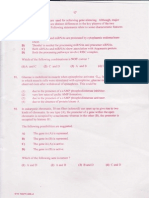 Csir-net June 2011 (Question Paper) Part c(II) Life Science