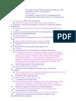 70 preguntas procedimiento