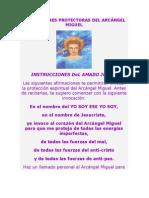 AFIRMACIONES PROTECTORAS DEL ARCÁNGEL MIGUEL