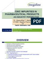 Genotoxic Impurities