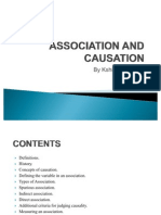 Association and Causation (2)