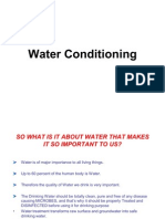 Water Conditioning Lecture Print