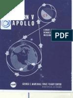 Saturn v Apollo Lunar Orbit Rendezvous Mission
