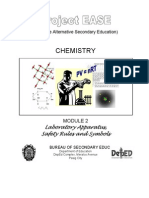Chem M2 Laboratory Apparatus, Safety Rules & Symbols
