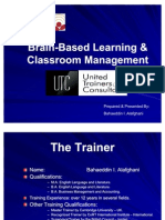 Brain-Based Learning & Classroom Management