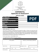 Application Form (Jan 2011)