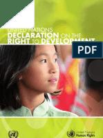 Right to Development