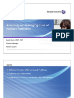 Assessing and Managing Risks of Product Portfolios