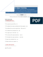 Unix Training