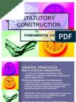 Statutory Construction- Power Point