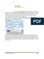 ExcelToCI and Office 2007