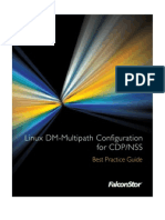 Linux Client DM-Multipath Best Practice for CDP-NSS