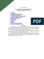 Fallos en los equipos de la industria petroquimica