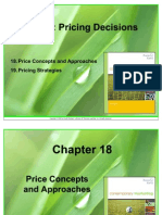 Pricing Decision in Market Structure