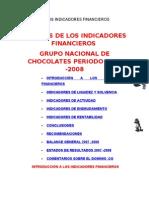 Analisis de Los Indicadores Financieros
