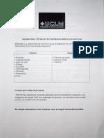 PAEG JUNIO 2011 e Instrucciones de La Prueba.
