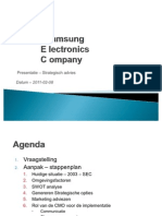 2011-02-08- Samsung Electronics Company SEC - Casus Presentation