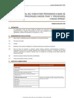 Norma Codex Para Pre Para Dos Queso Fundido