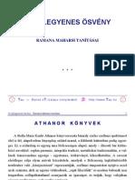 Ramana Maharsi Nyilegyenes Osveny