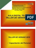 PRESENTACIÓN TALLER DE VERANO GRIS 2010[1]