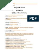 Propuesta Radial_Edgar_Peña_Sanabria para FUSION 95.1 FM
