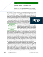 Psychiatry in the Genomics Era