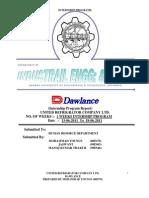 Dawlance Internship Report