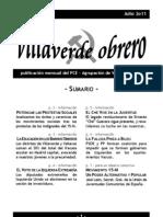 Villaverde Obrero - Número 1 - Julio 2011