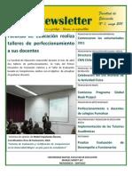 Newsletter 1 Facultad de Educación, Universidad Mayor