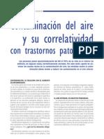 Contaminacion Del Aire y Trastornos Patologicos