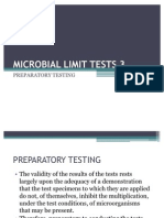 Microbial Limit Tests 3