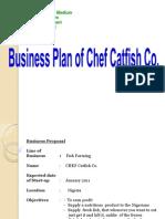 Presentation of Business Plan,