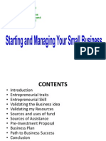 Starting and Managing Your Business 2