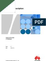 OptiX RTN 600 V100R002 Product Description