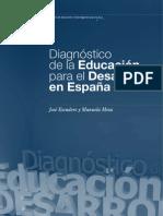 Diagnostico de la Educacion para el Desarrollo en España