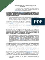 ANÁLISIS DE LAS 10 PREGUNTAS DE LA CONSULTA POPULAR DEL PRESIDENTE