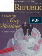 The Case for Gay Marriage by Andrew Sullivan