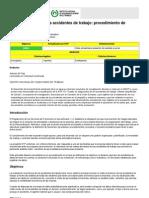NTP 540 Costes de los accidentes de trabajo procedimiento de evaluación