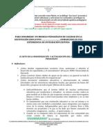 GilbertoREFLEXIÓN PEDAGÓGICA MODELO PEDAGÓGICO2