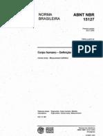 ABNT NBR 15127_ ERGONOMIA